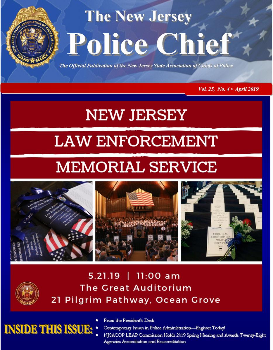 The NJ Police Chief Magazine