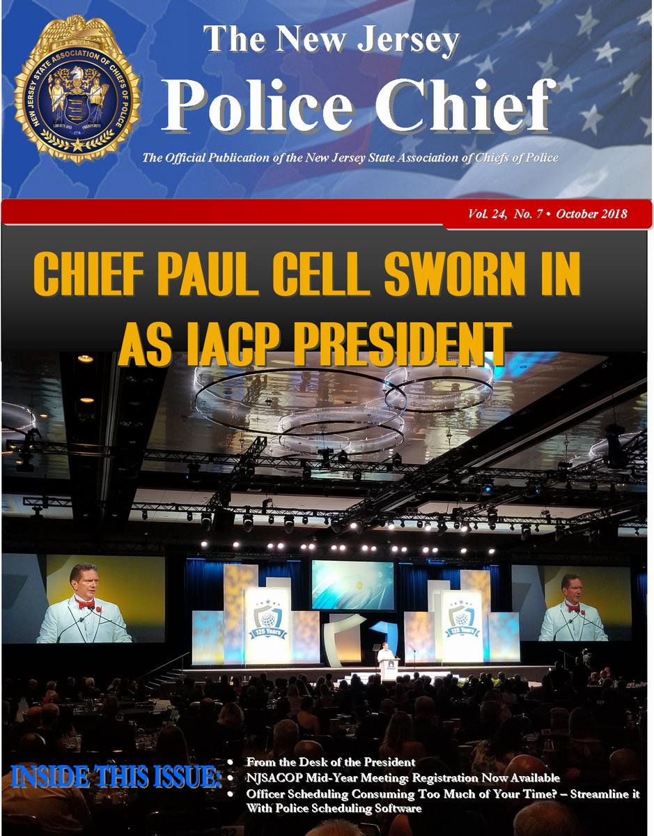 The NJ Police Chief Magazine - April 2017 Edition